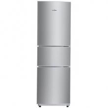 万博appmanbetx手机版(Midea)206升 时尚三门三温冰箱 日耗电0.49度 HIPS环保内胆 闪白银 BCD-206TM(E)