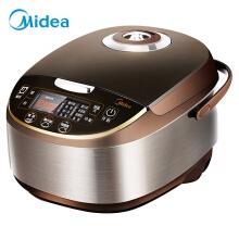 万博appmanbetx手机版(Midea)电饭煲 5L大容量 气动涡轮防溢锅 金属机身电饭锅MB-WFS5017TM