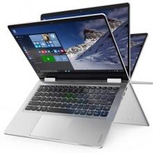 联想YOGA710 14英寸超轻薄笔记本电脑 PC平板二合一 商务办公便携手提电脑超级本 i7-7500U/8G/256G固态/银色 2G独显