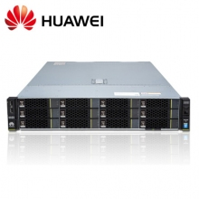 华为(HUAWEI)RH2288HV3服务器12盘(2*E5-2630V4 ,4*16GB ,SR430 1G,8*2TSATA,4*GE,2*460W电源,滑轨)